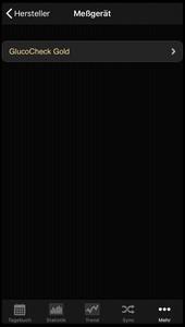 Auswahlliste des Herstellers Aktivmed in der iOS App