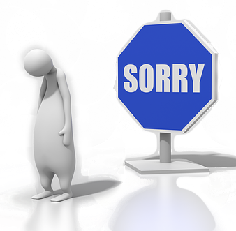 We are really sorry...